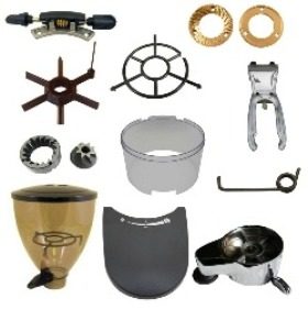 espresso underground coffee grinder parts by manufacturer